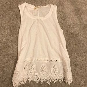 NEW WITH TAGS Altar'd State lace trim tank